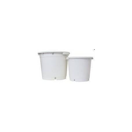 Maceta Blanca 25cm de 10L