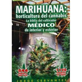 """Libro - """"La Biblia"""" Marihuana Horticultura (Cervantes)"""