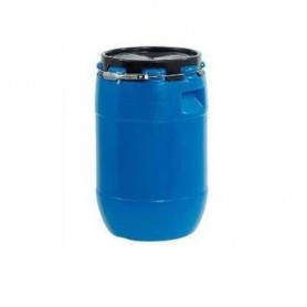Bidón Industrial Azul con Tapa 65L