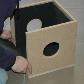 Caja Antiruido para Extractores de 150 mm