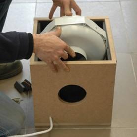 Caja Antiruido para Extractores de 250 mm