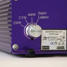 Balastro electrónico Lumatek regulable de 400W