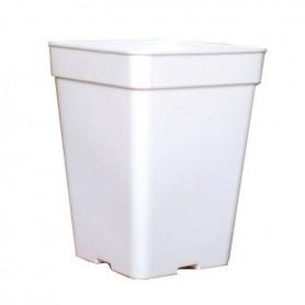 Maceta blanca 20x20x27cm - 7L