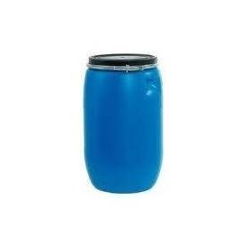 Bidon Industrial Azul con tapa 128L