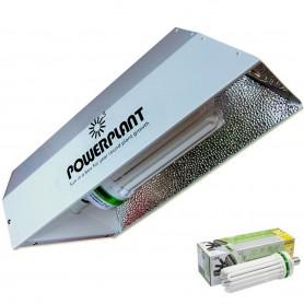 Kit bajo consumo Reflector Power Plant + Bombilla de 150W para el crecimiento