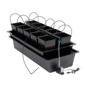 Sistema de cultivo Wilma para 10 macetas