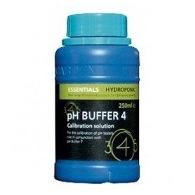Líquido calibrador de PH 4.01 en botella de 300 ml.