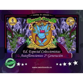 Edición Coleccionista Autoflorecientes 2ª Generación de Sweet Seeds