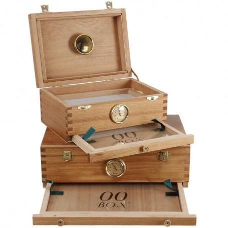 00 Box Caja mediana para el curado de marihuana