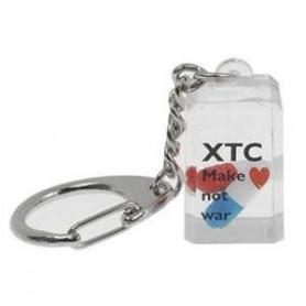 Llavero acrilico con XTC