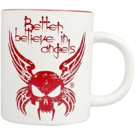 Taza de café Better Believe in Angels