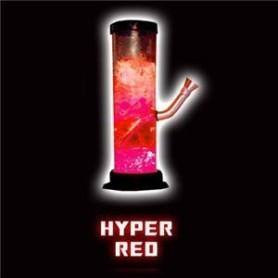 Bong acrílico Illuma de luz led roja líquida