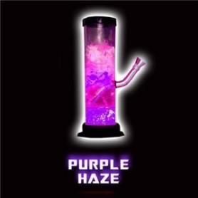Bong acrílico Illuma de luz LED púrpura líquida