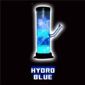 Bong acrílico Illuma de luz LED azul líquida