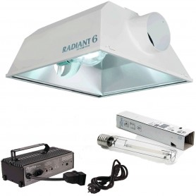 Kit 600w Radiant + Phantom Digital Reg. + Sylvania SHP-TS
