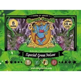 Edición Coleccionista Feminizadas Green Poison de Sweet Seeds
