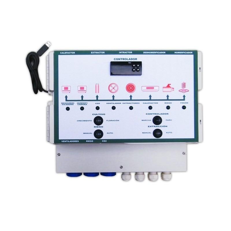 Controlador de Clima Multifúncion 8x600