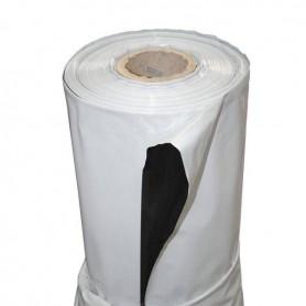 Plástico reflectante blanco y negro de 1 metro cuadrado de grosor