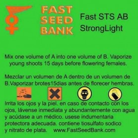 Sex Inverter Fast STS A+B Light 250ml/u