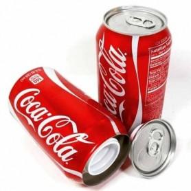 Lata de Coca Cola Ocultación