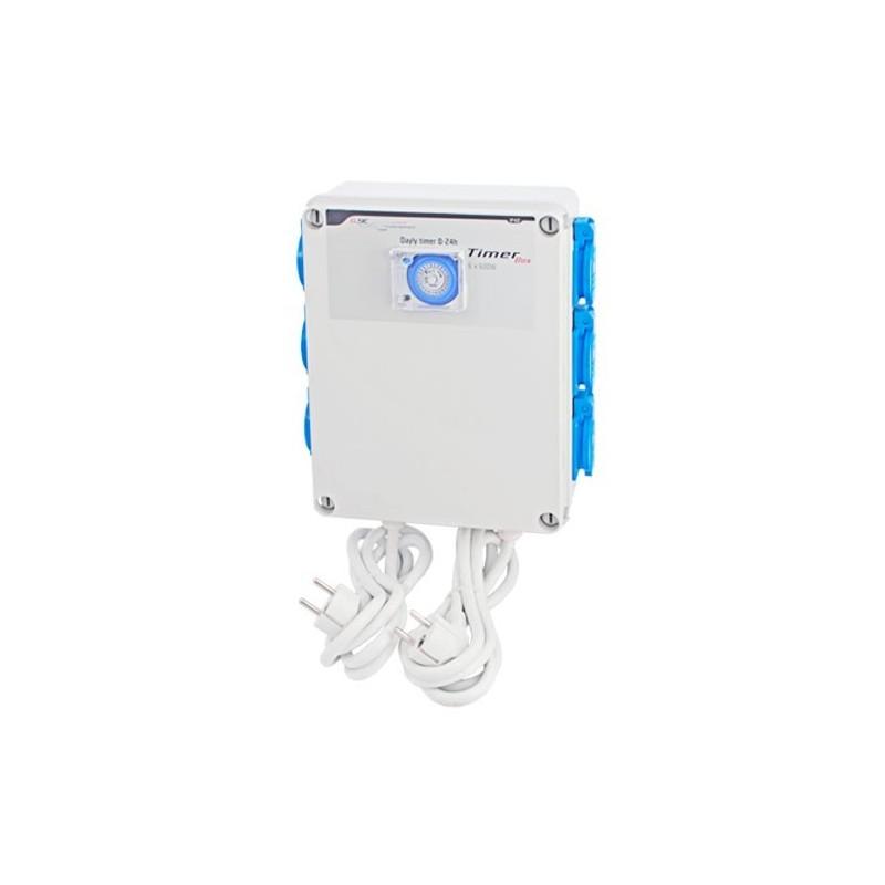 Temporizador 6 x 600 gse para controlar luz y clima de - Temporizadores de luz ...