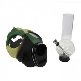 Máscara Pipe Camuflage con Bong incorporado