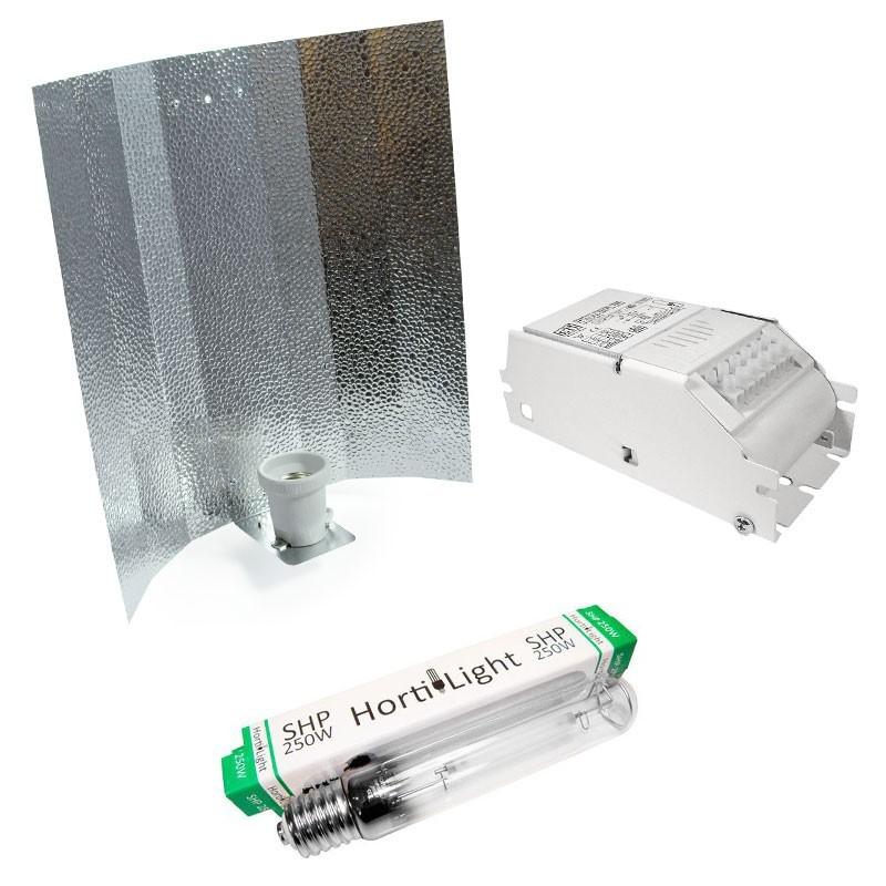 Kit 250w ECO - Stuco + Hortilight SHP + ETI Clase 1