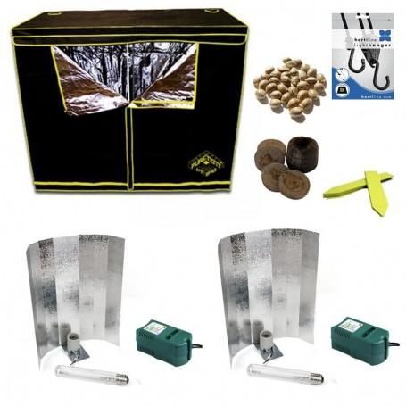 KIT Basico Armario de Cultivo 1200w 240x120x200cm