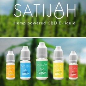 E-Liquido CBD Satijah (Limón) 10ml.