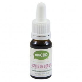 Aceite de CBD(2%) Sublingual MY CBD 10ml