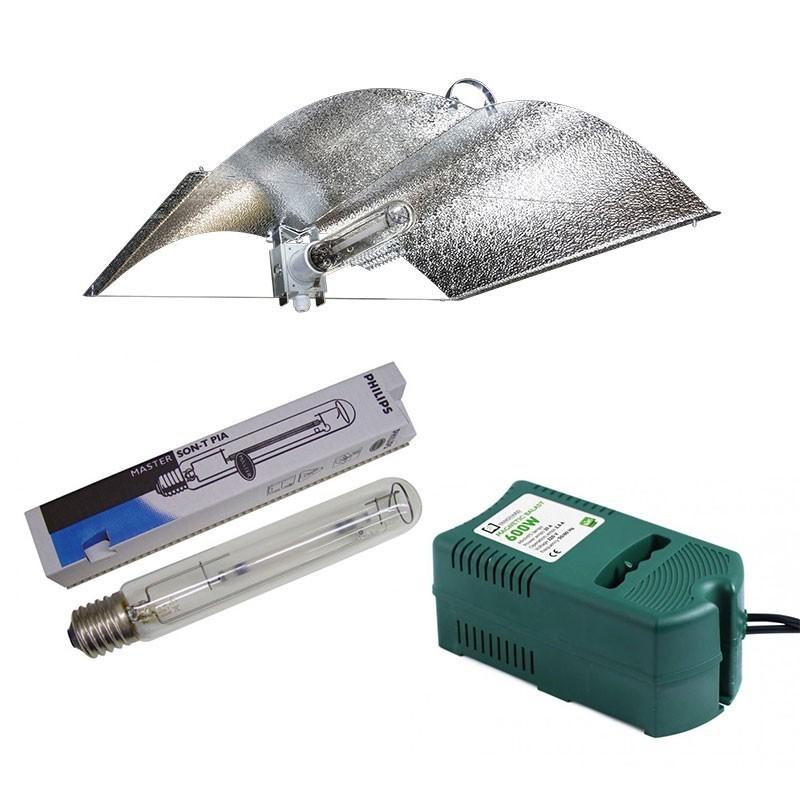 Kit 600w  Tipo Adjust + Philips Green Power + Balastro CLASE 1 de 600w