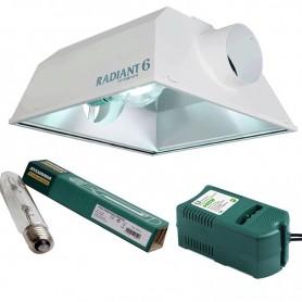 Kit 600w Radiant + Balastro CLASE 1 de 600w + Sylvania SHP-TS
