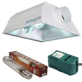 Kit 600w Radiant + Xtrasun HPS + Balastro CLASE 1 de 600w