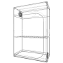 Armario Dark Street R 4.0 de 120x60x178cm