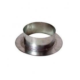 Manguito Corona 250 mm Galvanizado para Tubo Ventilación