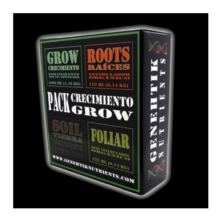 Pack crecimiento Genetik