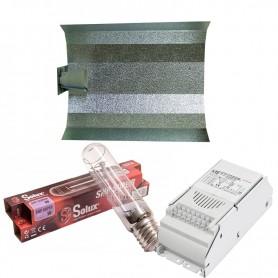 Equipo completo de iluminación con balastro, bombilla y reflector