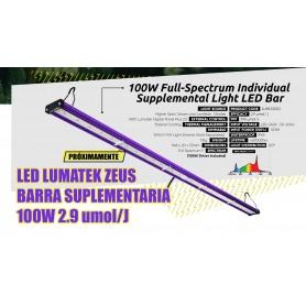 LED LUMATEK ZEUS BARRA SUPLEMENTARIA 100W 2.9 umol/J